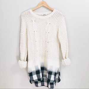 Madewell Cable Knit Sweater Size Small